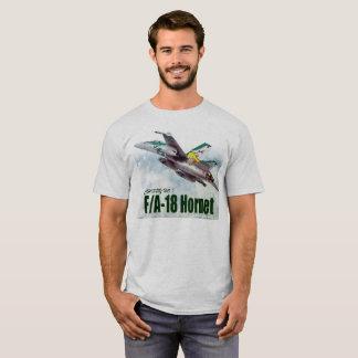 """Aviation Art T-shirt """"F/A-18 Hornet"""""""