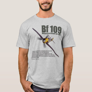 "Aviation Art T-shirt ""Messerschmitt Bf 109"""