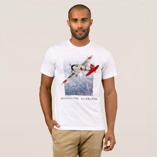 """Aviation Art T-shirt """"Mitsubishi A5M Claude"""""""