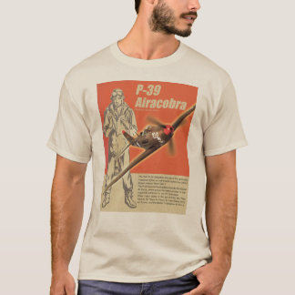 "Aviation Art T-shirt ""P-39 Airacobra"""