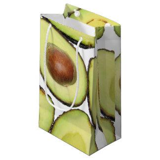 Avocado-Muster Kleine Geschenktüte