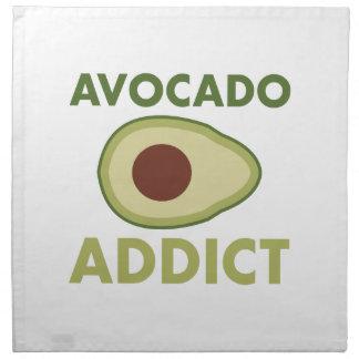 Avocado-Süchtiger Stoffserviette