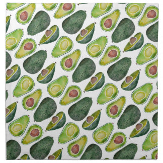 Avocados Serviette