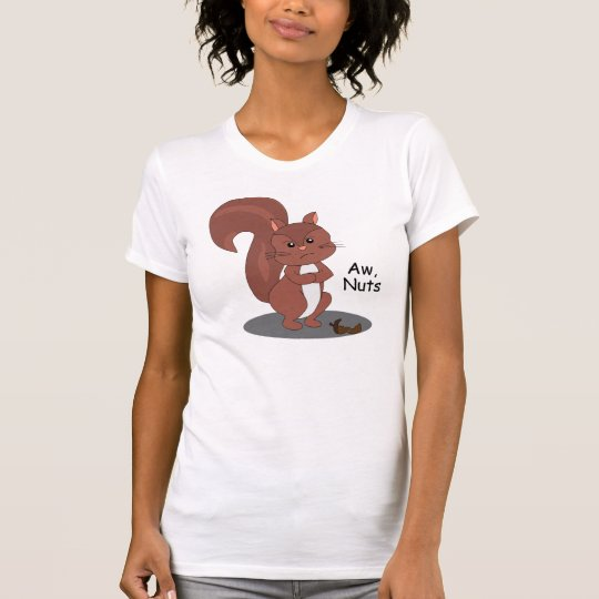 """Aw-Nuss-"" Eichhörnchen T-Shirt"