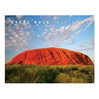 ayers Felsen in Australien Postkarte