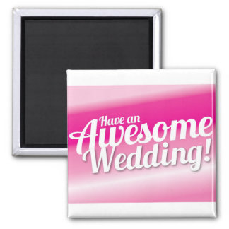 Ayez un mariage impressionnant magnets pour réfrigérateur