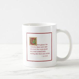 Ayn Rand Kaffeetasse