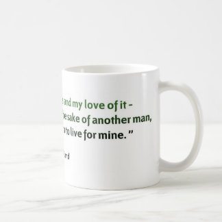 Ayn Rand-Zitat Kaffeetasse