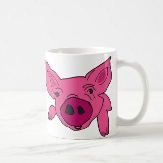 AZ-, unglaublich witzig rosa Schwein-Tasse Tasse