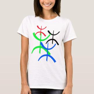 Aza Mehrfarben T-Shirt