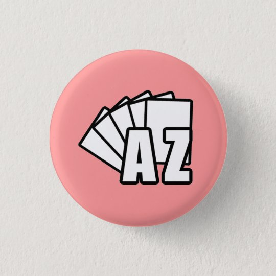 AZMagicPlayers.com - roter Knopf Runder Button 3,2 Cm