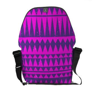 Azteke #3 - Lila Tasche Kurier Taschen