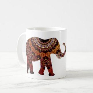 Aztekische Elefant-Kaffee-Tasse Tasse