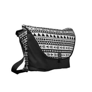 Aztekische Musterbotetaschen Kurier Taschen