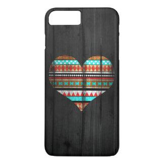 Aztekisches Herz iPhone 8 Plus/7 Plus Hülle