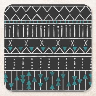 Aztekisches Muster Rechteckiger Pappuntersetzer