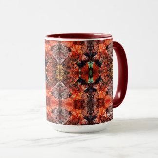 Aztekisches rotes Abenteuer Tasse
