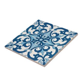Azulejo Lilien-Art-Muster Keramikfliese