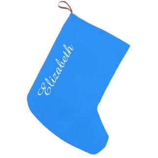 Azurblauer Normallack fertigen es besonders an Kleiner Weihnachtsstrumpf