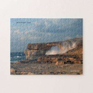Azurblaues Fenster, Gozo Puzzle