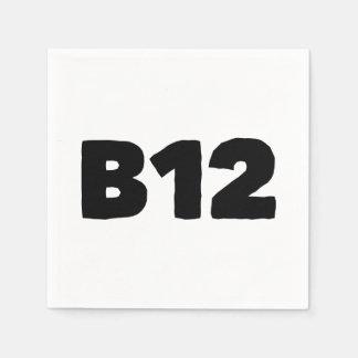 B12 PAPIERSERVIETTE