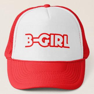 B-Mädchen Hut Truckerkappe