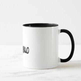 B/N zerteilt Tasse