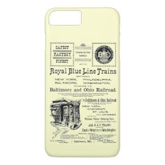 B+O-Königsblau-Linie bildet 1910 aus iPhone 8 Plus/7 Plus Hülle