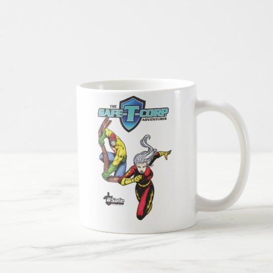 B-Sichere Comicen - das Safe-T-Corp. Kaffeetasse