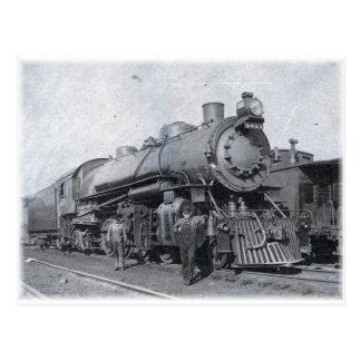 B u. O-Dampf-Lokomotive 4013 Postkarte