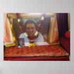 Babaji am Haidakhandi Ashram-Plakat Poster