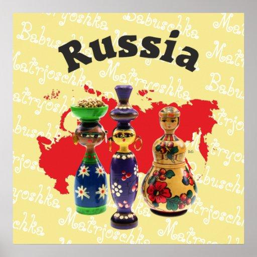 Babuschka Matrjoschka Matryoshka Poster