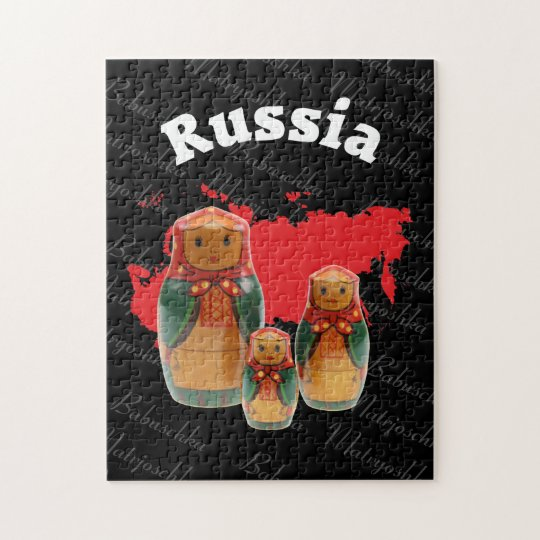 Babuschka Matrjoschka Matryoshka  Puzzles