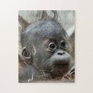 Baby-Affe-Puzzlespiel