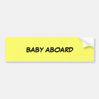 BABY AN BORD AUTOAUFKLEBER
