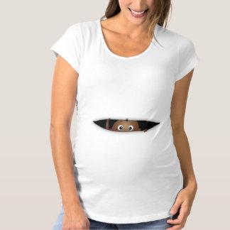 Baby auf dem Weisenschwangerschafts-T - Shirt