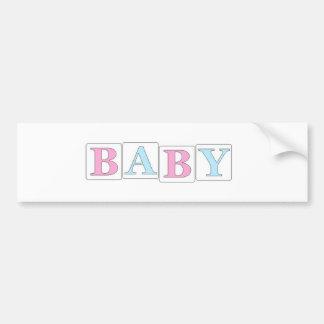 Baby Autoaufkleber