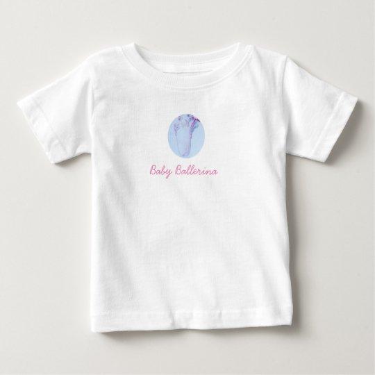 Baby-Ballerina-Geldstrafe-Jersey-T - Shirt
