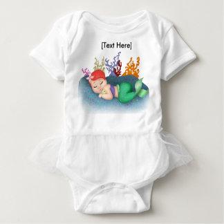 Baby-Ballettröckchen-Bodysuit SchlafensMerbaby Baby Strampler