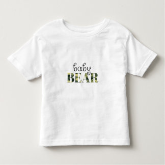 Baby-Bär (grüne Camouflage) (Familien-Set) Kleinkind T-shirt