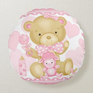 Baby-Bärn-rundes Kissen Rundes Kissen