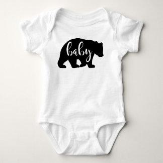 Baby-Bärneinteiler-Shirt Baby Strampler
