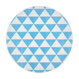 Baby-Blau-Dreieck-Muster