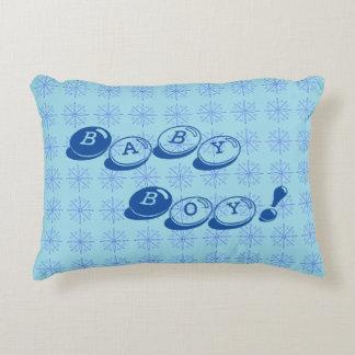 Baby-Blau-Kissen Deko Kissen