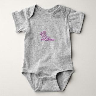 Baby-Bodysuit der Königin-Alexa Baby Strampler