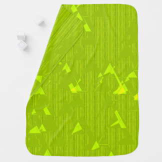 Baby-Decke-Grüne Beschaffenheit Puckdecke