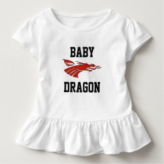 Baby-Drache - Frau Kleinkind T-shirt