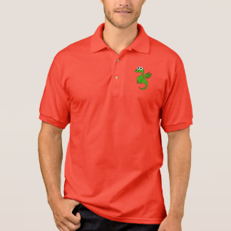 Baby-Drache-Polo Polo Shirt