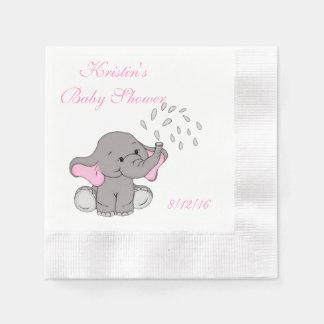 Baby-Dusche, niedlicher Elefant-Papierserviette Papierservietten