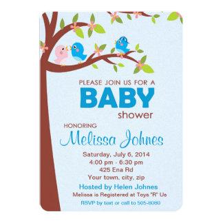 Baby-Duschen-Party Einladungs-Junge 12,7 X 17,8 Cm Einladungskarte